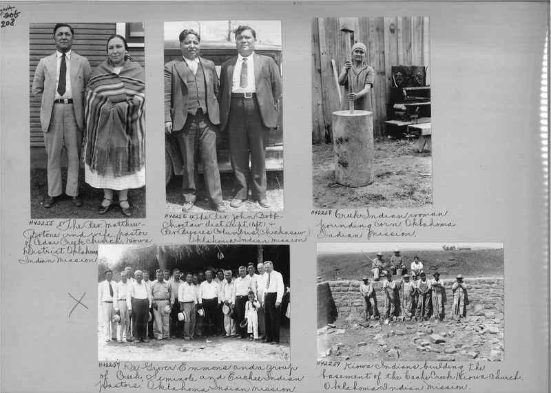 Mission Photograph Album - Indians #2 page_0208