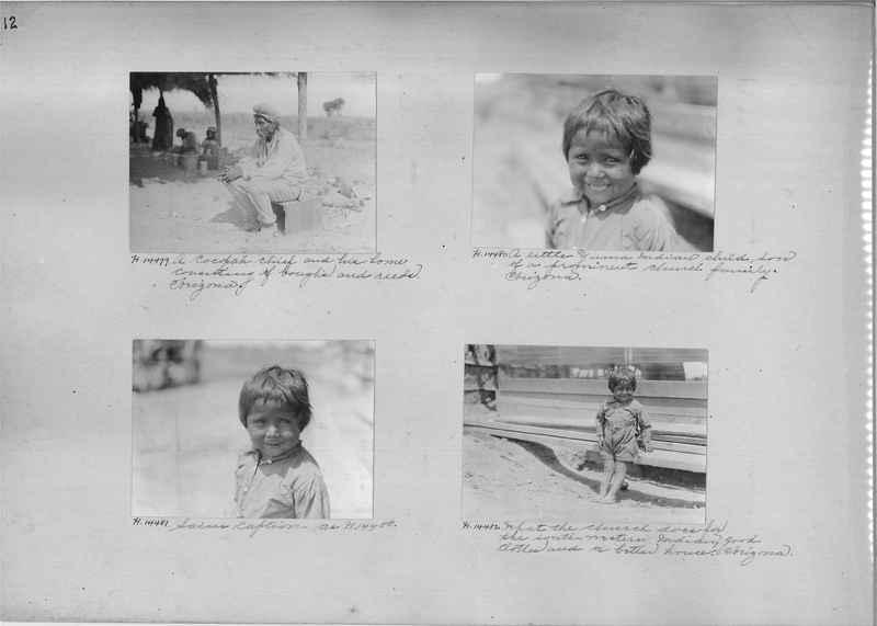 Mission Photograph Album - Indians #2 page_0012