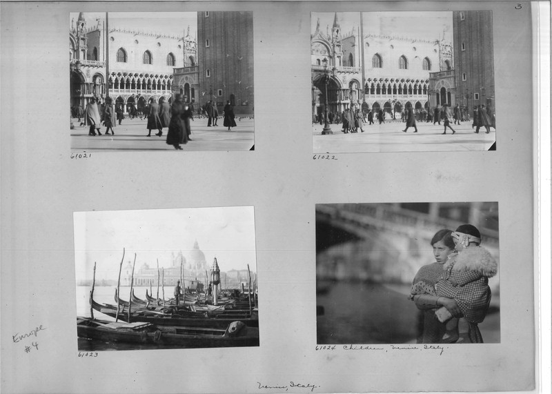 Mission Photograph Album - Europe #04 Page 0003