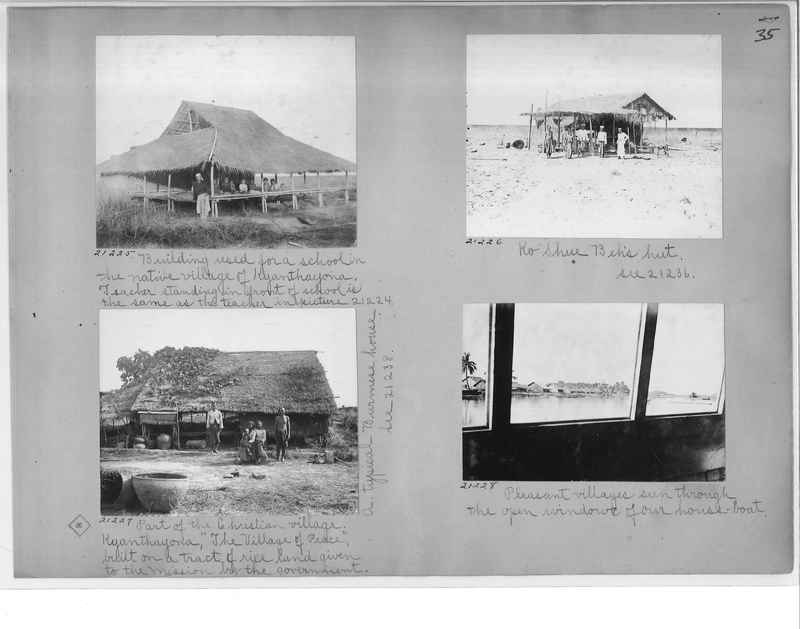 Mission Photograph Album - Burma #1 page 0035