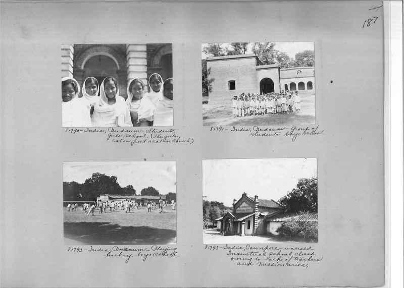 Mission Photograph Album - India #09 Page 0187