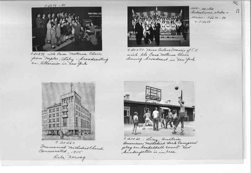Mission Photograph Album - Europe #10 Page 0011