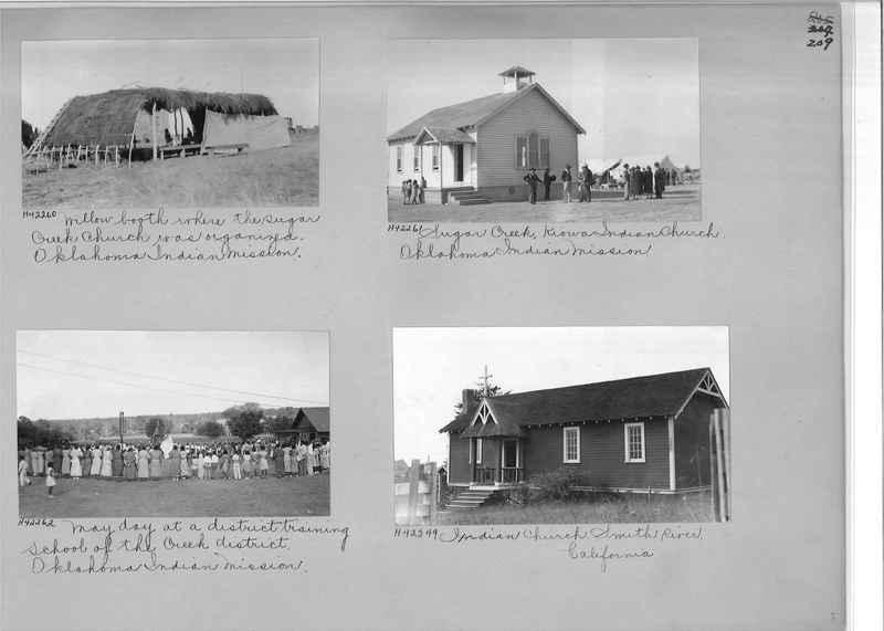 Mission Photograph Album - Indians #2 page_0209