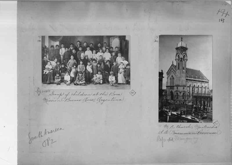 Mission Photograph Album - South America O.P. #2 page 0163