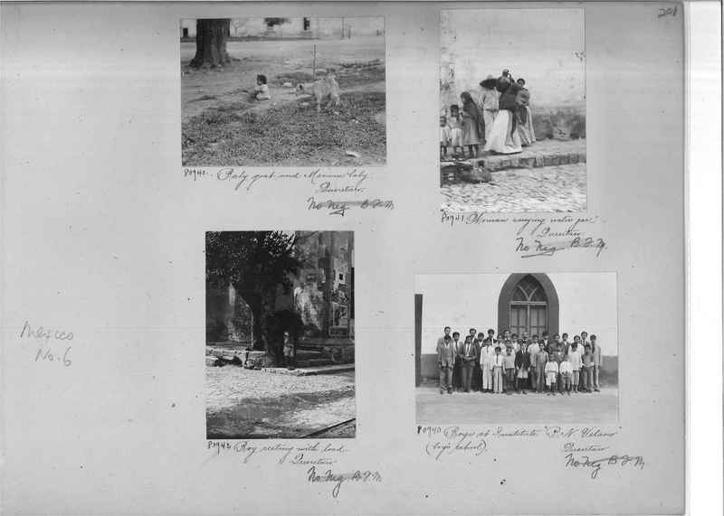 Mission Photograph Album - Mexico #06 page 0201