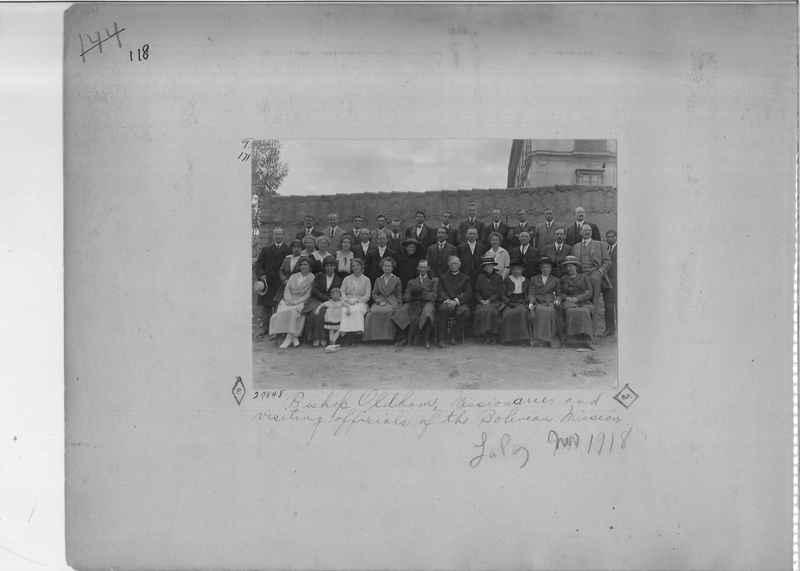 Mission Photograph Album - South America O.P. #2 page 0118