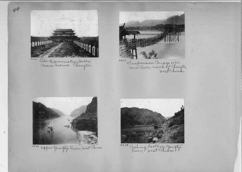 Mission Photograph Album - China #2 page  0044