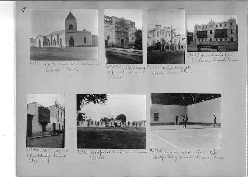 Misson Photograph Album - South America #8 page 0012