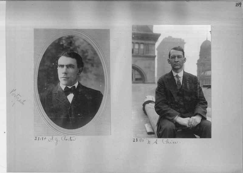 Mission Photograph Album - Portraits #1 page 0159
