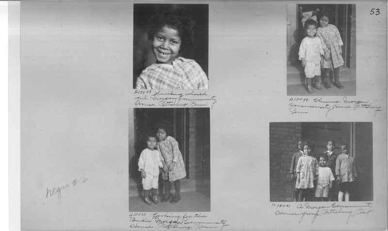 Mission Photograph Album - Negro #2 page 0053