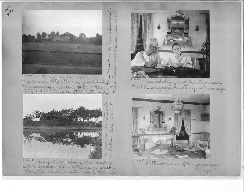 Mission Photograph Album - Burma #1 page 0040