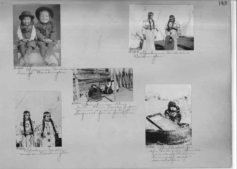 Mission Photograph Albums - Indians #1 page 0193