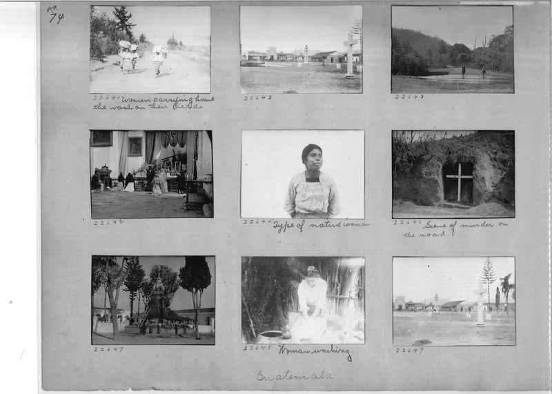Mission Photograph Album - Panama #02 page 0074