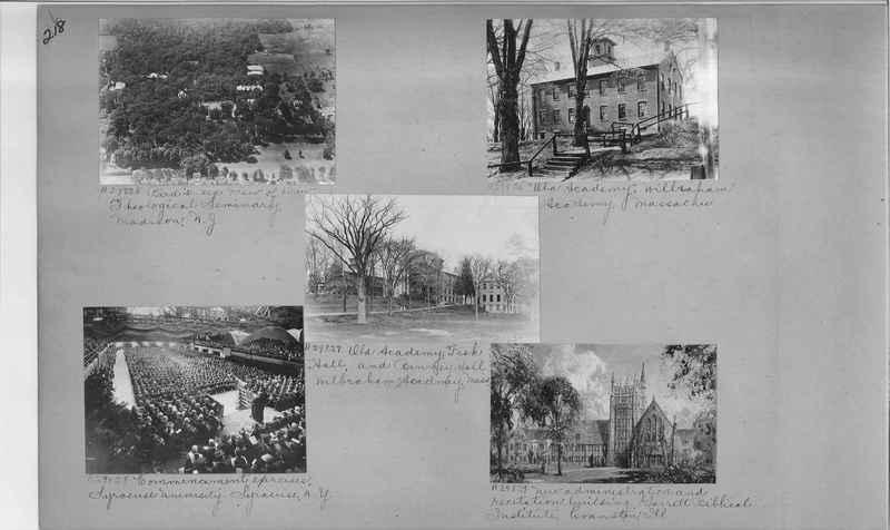 Mission Photograph Album - Education #1 page 0218