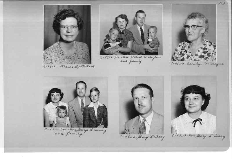 Mission Photograph Album - Portraits #08 Page 0113