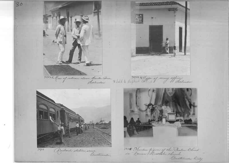 Mission Photograph Album - Panama #03 page 0030