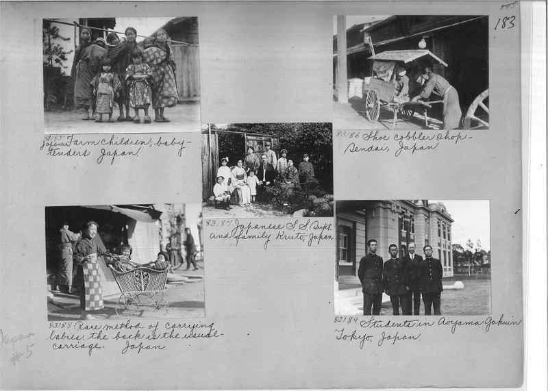 Mission Photograph Album - Japan #05 Page 0183