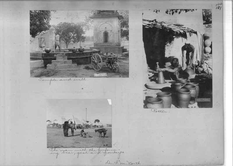 Mission Photograph Album - India - O.P. #01 Page 0181