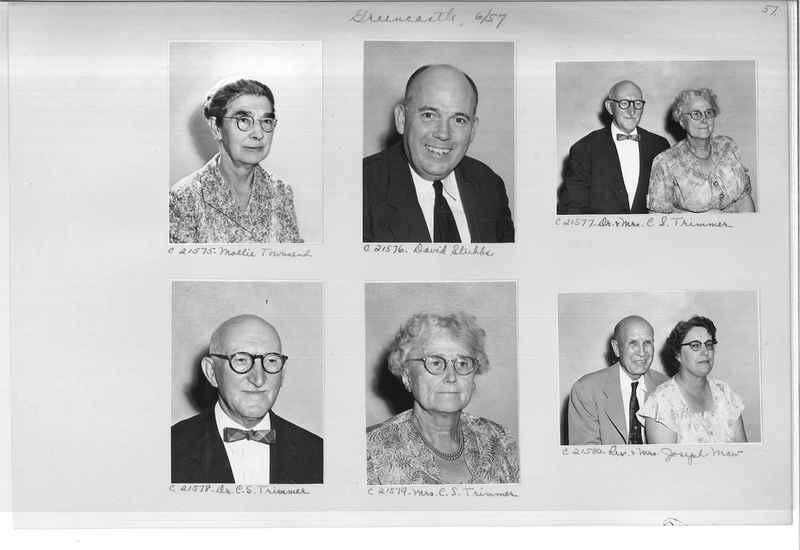 Mission Photograph Album - Portraits #10 Page 0057