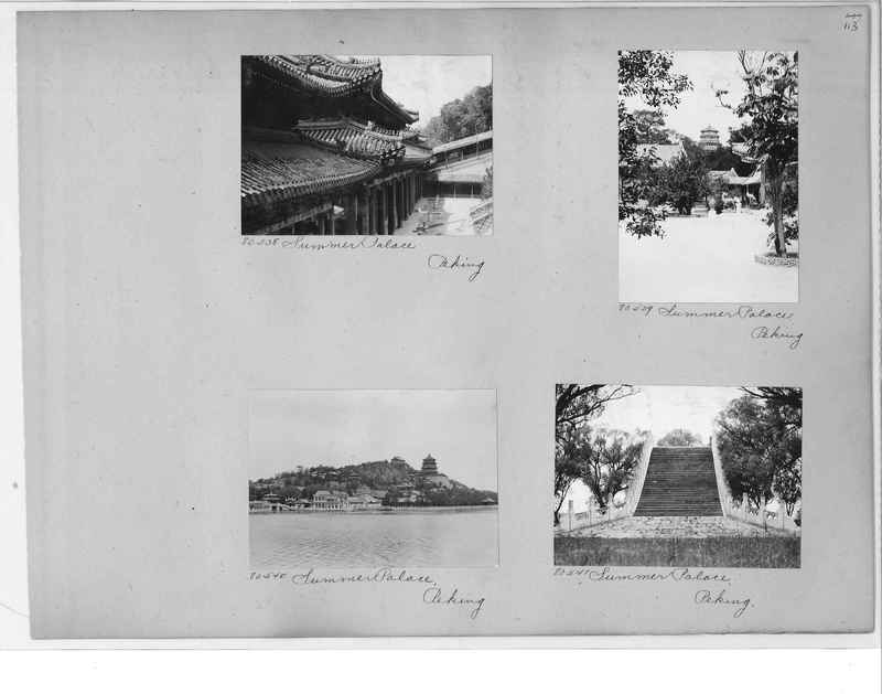 Mission Photograph Album - China #10 pg. 0113