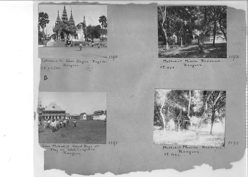 Mission Photograph Album - Burma #1 page 0012