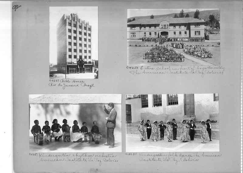 Misson Photograph Album - South America #8 page 0092