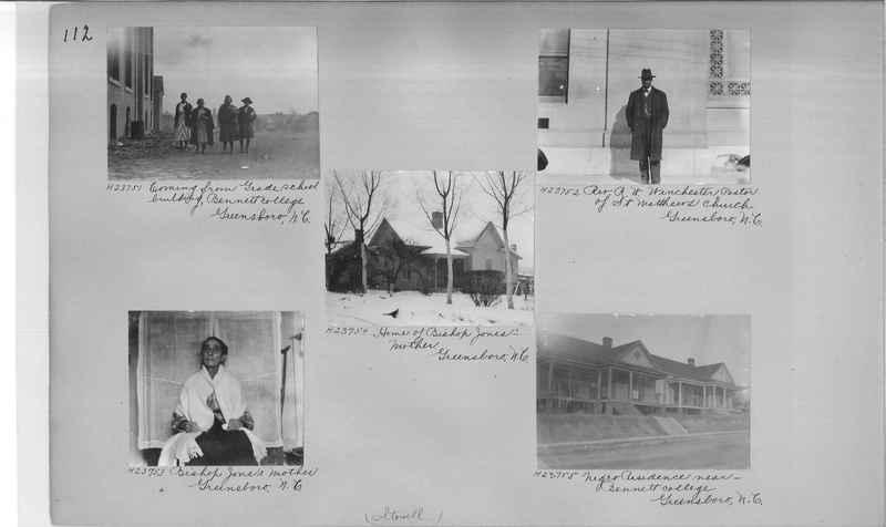 Mission Photograph Album - Negro #3 page 0112