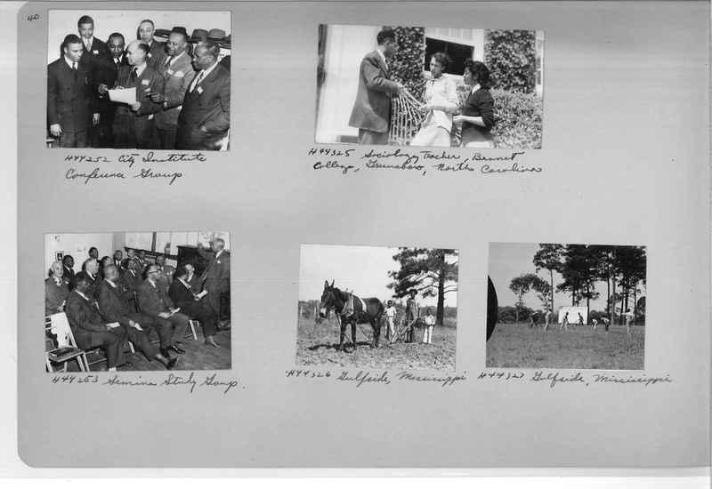 Mission Photograph Album - Negro #7 page 0040