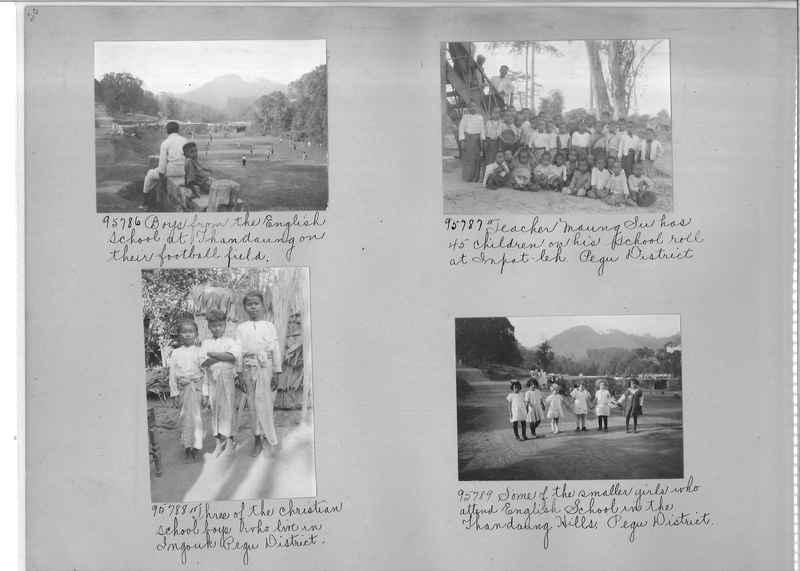 Mission Photograph Album - Burma #2 page 0030