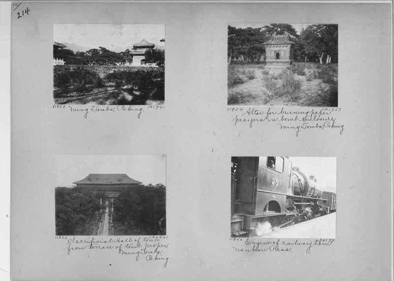 Mission Photograph Album - China #2 page  0214
