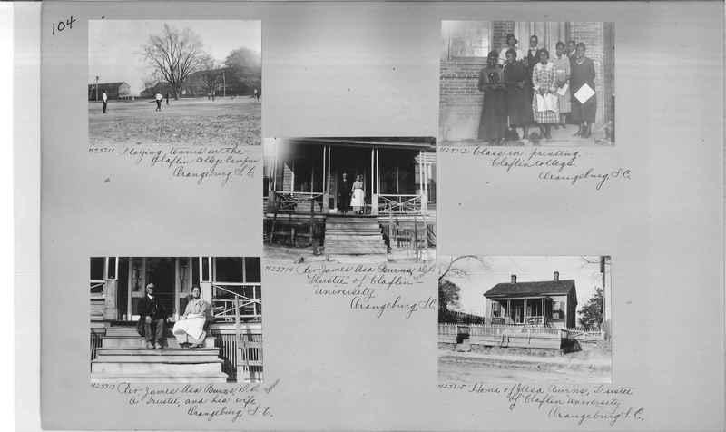 Mission Photograph Album - Negro #3 page 0104