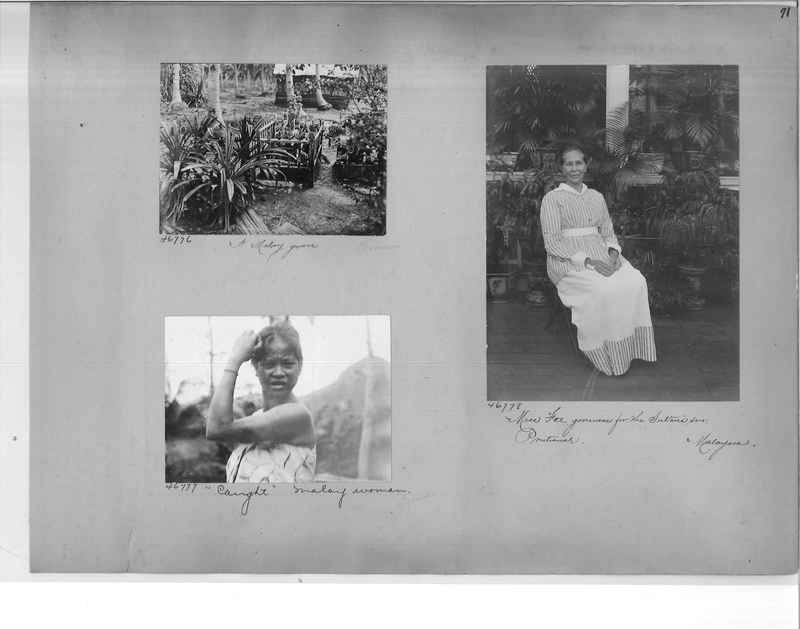 Mission Photograph Album - Malaysia #4 page 0071