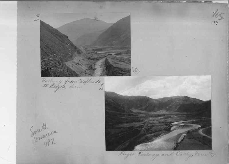 Mission Photograph Album - South America O.P. #2 page 0137