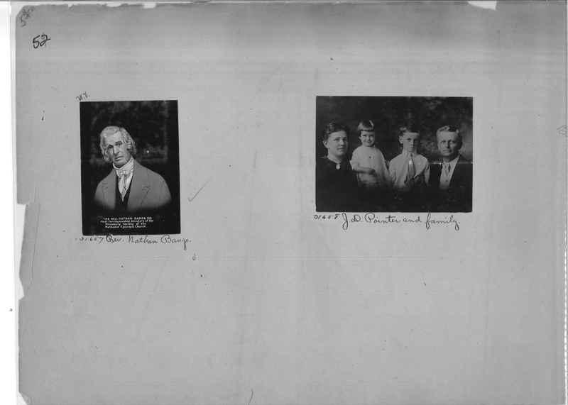 Mission Photograph Album - Portraits #2 page 0052