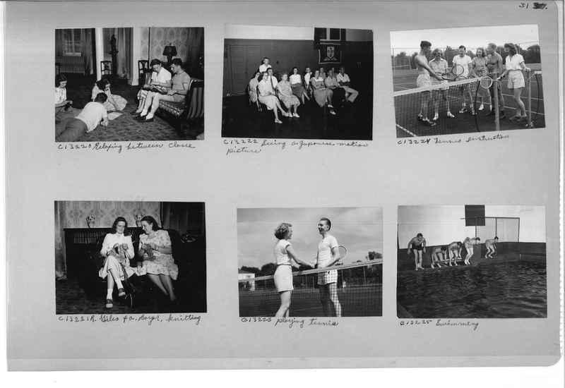 Mission Photograph Album - Portraits #13 Page 0031