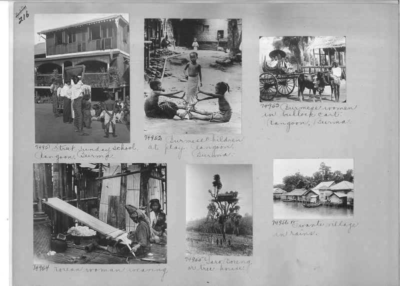 Mission Photograph Album - Burma #1 page 0216