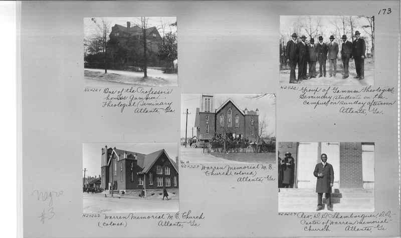 Mission Photograph Album - Negro #3 page 0173