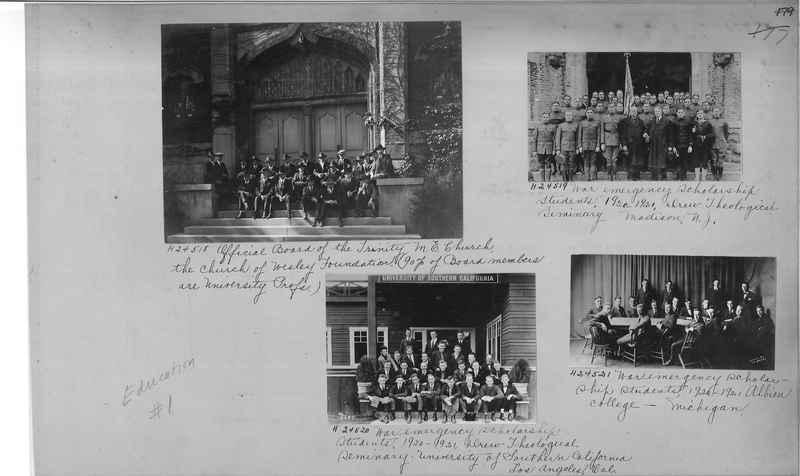 Mission Photograph Album - Education #1 page 0179
