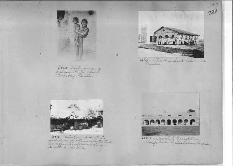 Mission Photograph Album - India #08 Page 0233