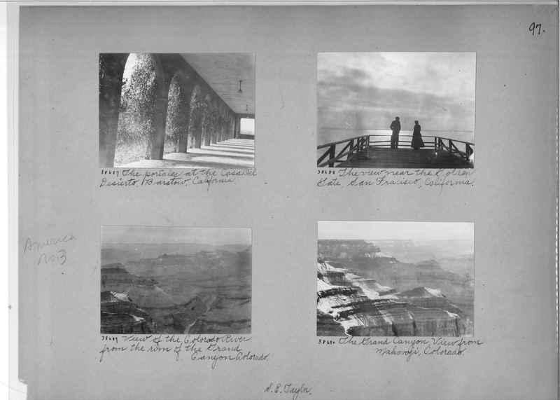 Mission Photograph Album - America #3 page 0097