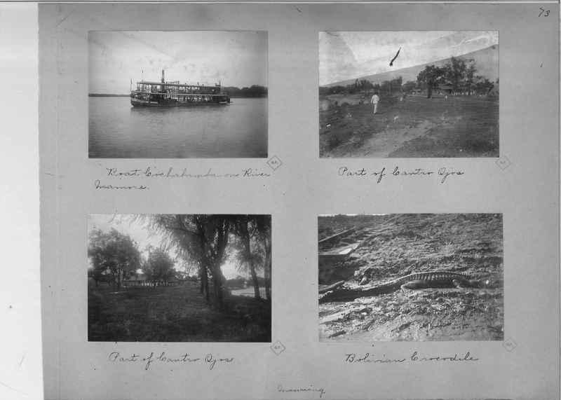 Mission Photograph Album - South America O.P. #1 page 0073