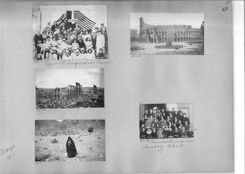 Mission Photograph Album - Europe #01 Page 0055