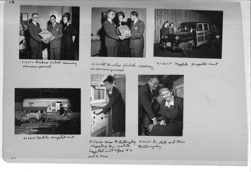 Mission Photograph Album - Portraits #13 Page 0036