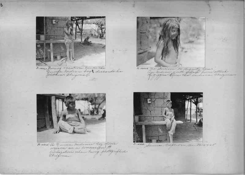Mission Photograph Album - Indians #2 page_0008