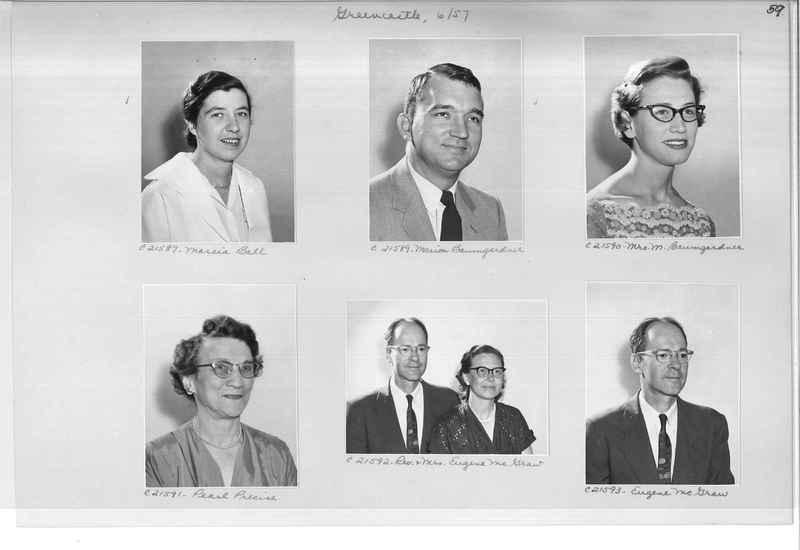 Mission Photograph Album - Portraits #10 Page 0059