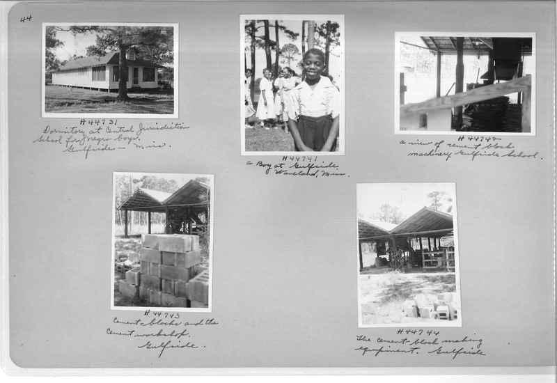 Mission Photograph Album - Negro #7 page 0044