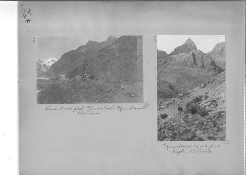 Mission Photograph Album - South America O.P. #2 page 0074