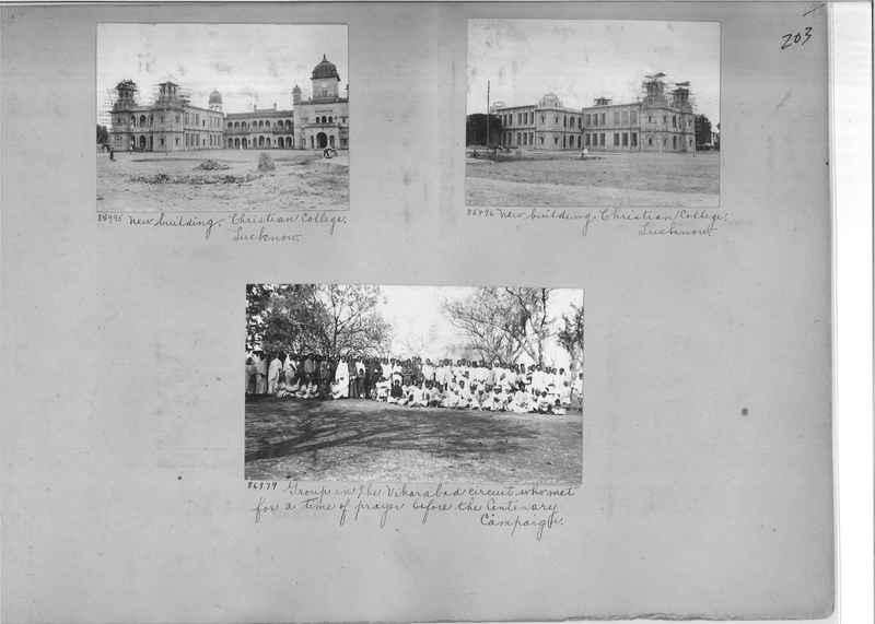 Mission Photograph Album - India #09 Page 0203