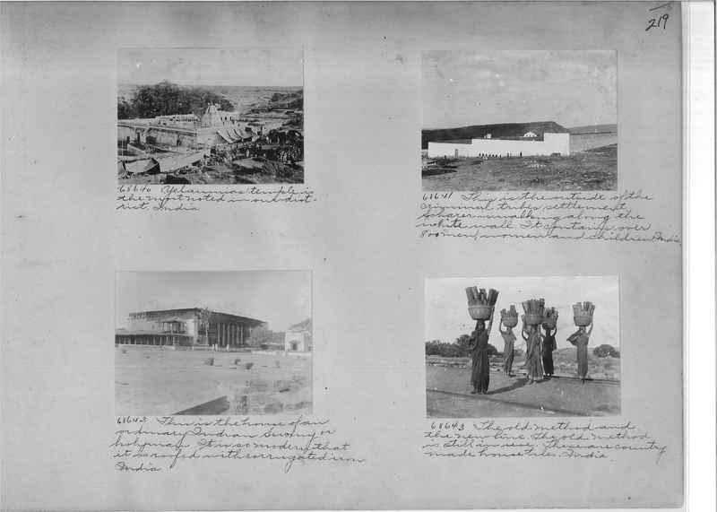 Mission Photograph Album - India #08 Page 0219