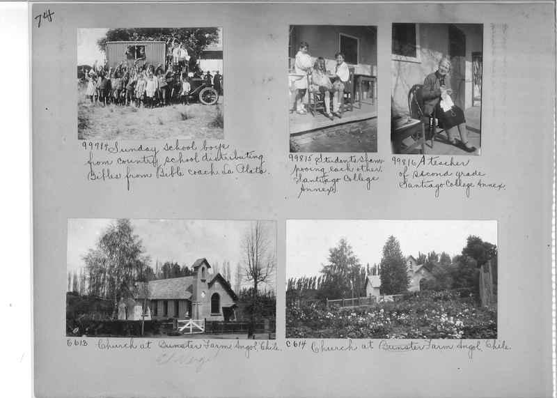 Misson Photograph Album - South America #8 page 0074